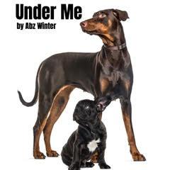 Under me